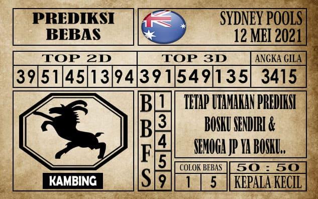 Prediksi Sydney Pools Hari ini 12 Mei 2021