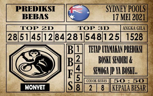 Prediksi Sydney Pools Hari ini 17 Mei 2021
