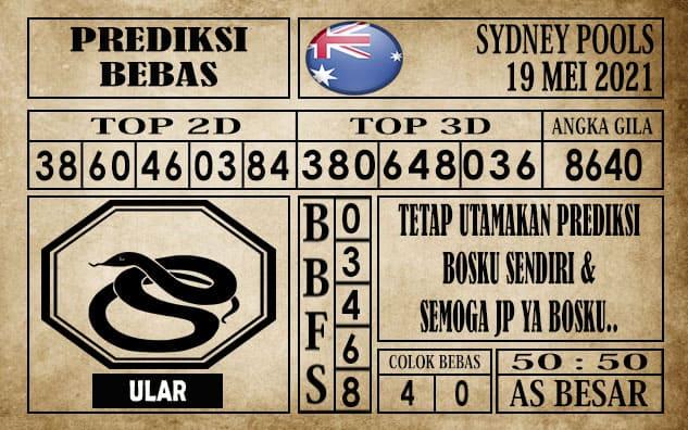 Prediksi Sydney Pools Hari ini 19 Mei 2021