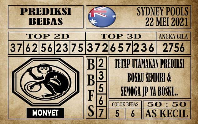 Prediksi Sydney Pools Hari ini 22 Mei 2021