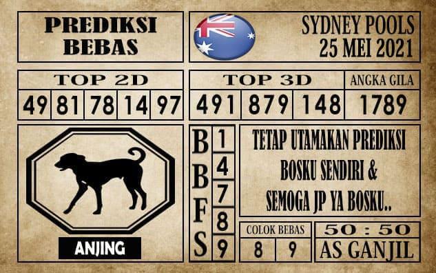 Prediksi Sydney Pools Hari ini 25 Mei 2021