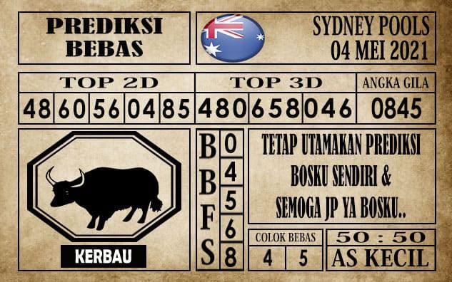 Prediksi Sydney Pools Hari ini 04 Mei 2021