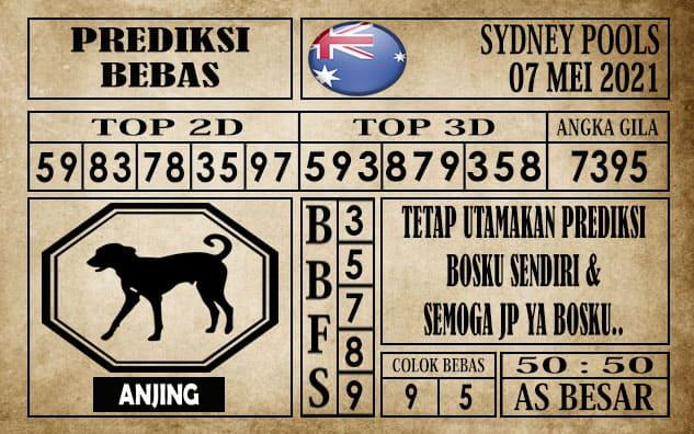 Prediksi Sydney Pools Hari ini 07 Mei 2021