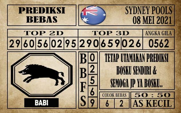 Prediksi Sydney Pools Hari ini 08 Mei 2021