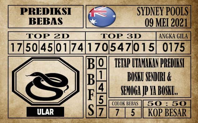 Prediksi Sydney Pools Hari ini 09 Mei 2021