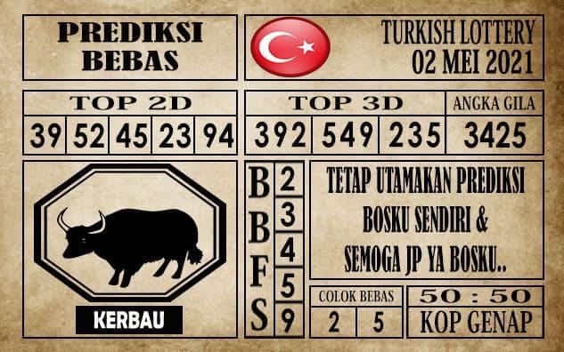 Prediksi Turkish Lottery Hari ini 02 Mei 2021