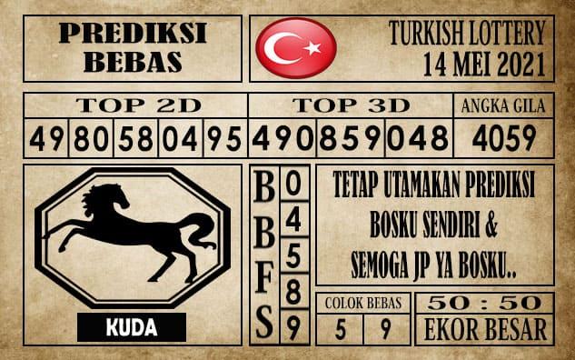 Prediksi Turkish Lottery Hari ini 14 Mei 2021