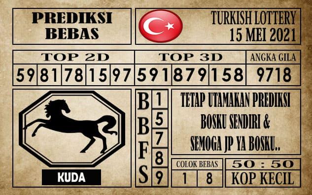 Prediksi Turkish Lottery Hari ini 15 Mei 2021