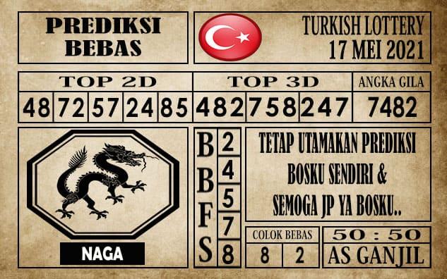 Prediksi Turkish Lottery Hari ini 17 Mei 2021