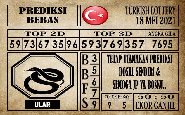 Prediksi Turkish Lottery Hari ini 18 Mei 2021