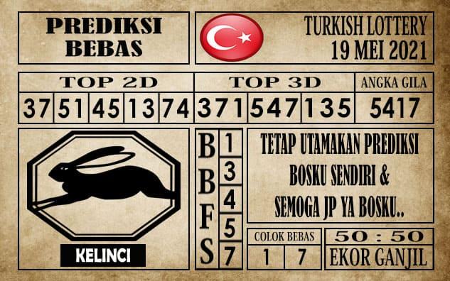 Prediksi Turkish Lottery Hari ini 19 Mei 2021