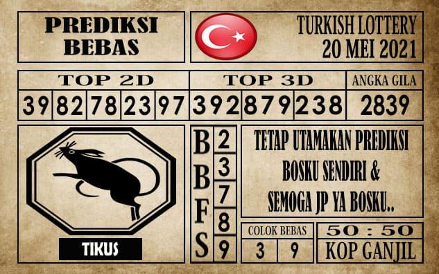 Prediksi Turkish Lottery Hari ini 20 Mei 2021