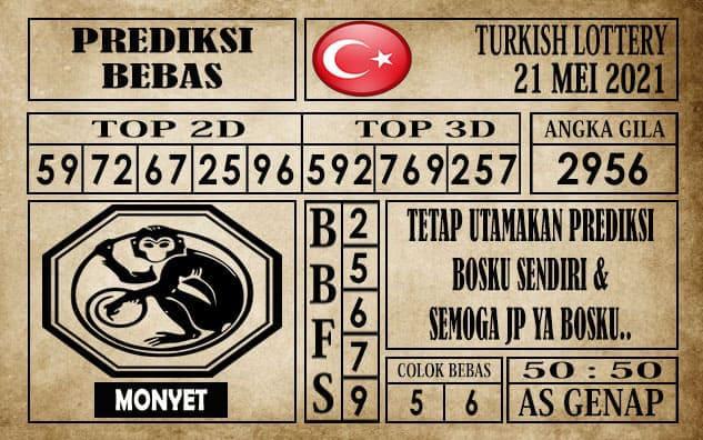 Prediksi Turkish Lottery Hari ini 21 Mei 2021