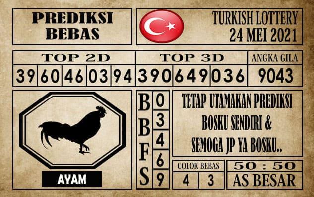 Prediksi Turkish Lottery Hari ini 24 Mei 2021