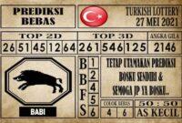Prediksi Turkish Lottery Hari ini 27 Mei 2021
