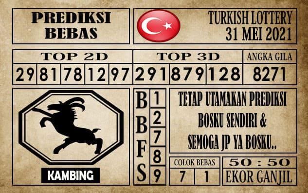Prediksi Turkish Lottery Hari ini 31 Mei 2021