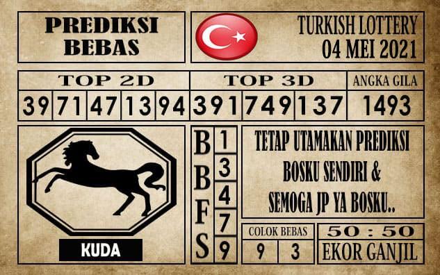 Prediksi Turkish Lottery Hari ini 04 Mei 2021