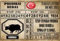 Prediksi Turkish Lottery Hari ini 08 Mei 2021