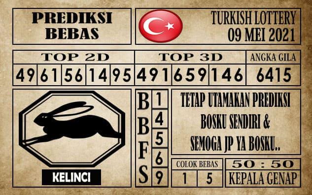 Prediksi Turkish Lottery Hari ini 09 Mei 2021