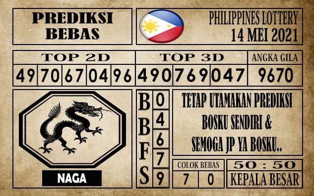 Prediksi Filipina PCSO Hari Ini 14 Mei 2021
