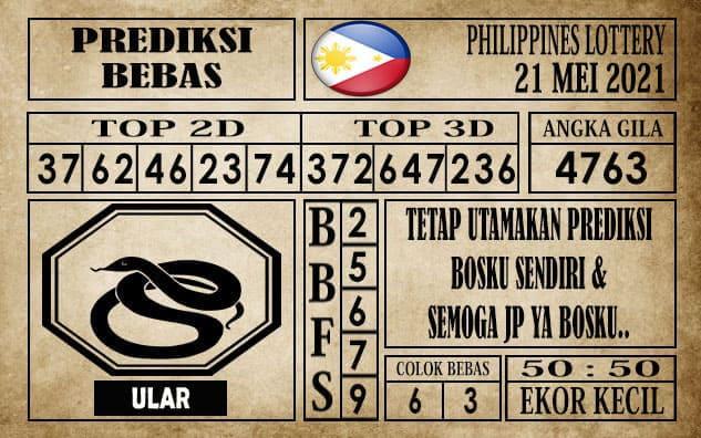 Prediksi Filipina PCSO Hari Ini 21 Mei 2021