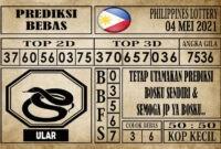 Prediksi Filipina PCSO Hari Ini 04 Mei 2021