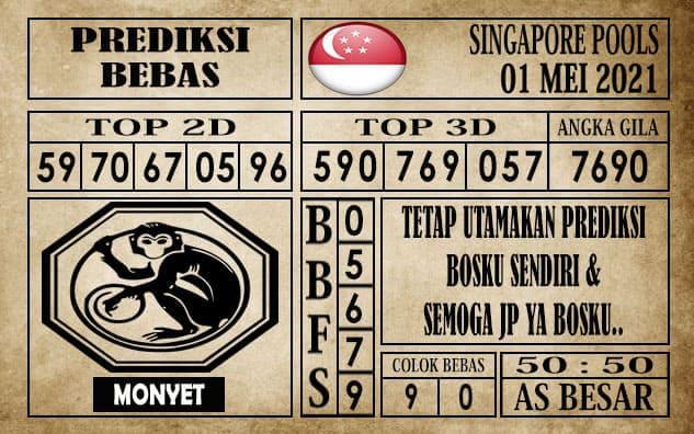 Prediksi Singapore Pools Hari ini 01 Mei 2021