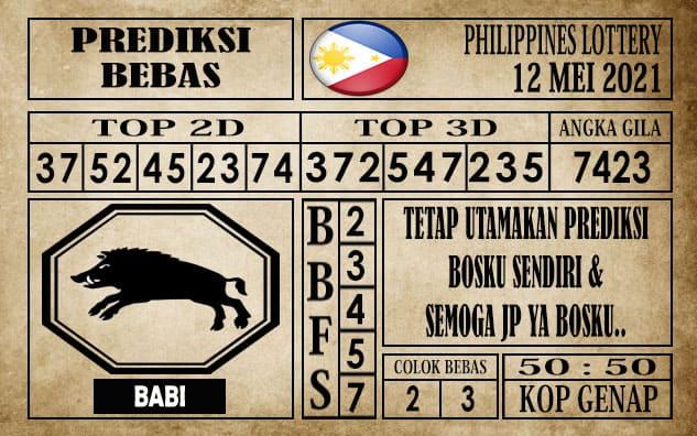 Prediksi Filipina PCSO Hari Ini 12 Mei 2021