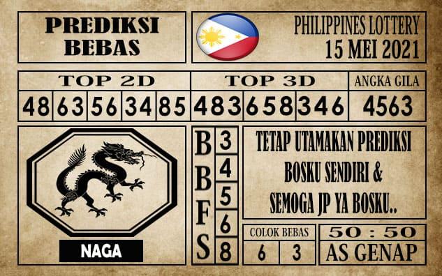 Prediksi Filipina PCSO Hari Ini 15 Mei 2021
