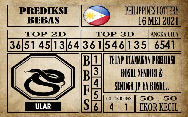 Prediksi Filipina PCSO Hari Ini 16 Mei 2021