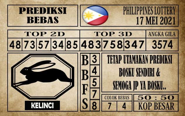 Prediksi Filipina PCSO Hari Ini 17 Mei 2021