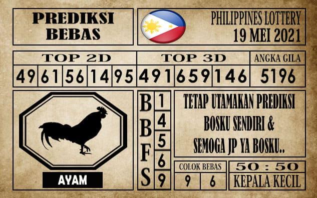 Prediksi Filipina PCSO Hari Ini 19 Mei 2021