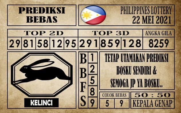 Prediksi Filipina PCSO Hari Ini 22 Mei 2021