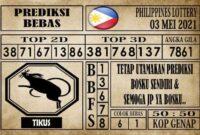 Prediksi Filipina PCSO Hari Ini 03 Mei 2021