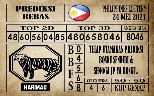 Prediksi Filipina PCSO Hari Ini 24 Mei 2021