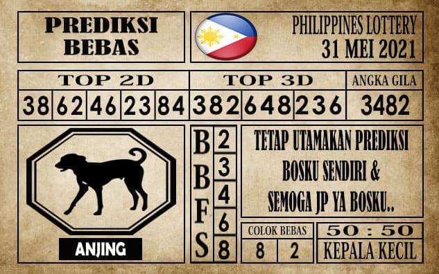 Prediksi Filipina PCSO Hari Ini 31 Mei 2021