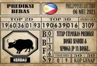 Prediksi Filipina PCSO Hari Ini 06 Mei 2021