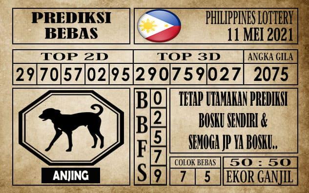 Prediksi Filipina PCSO Hari Ini 11 Mei 2021