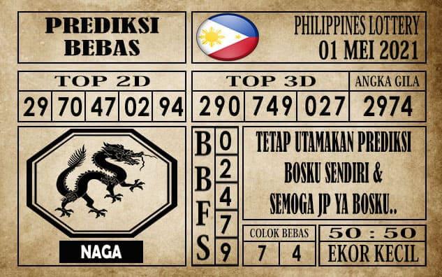 Prediksi Filipina PCSO Hari Ini 01 Mei 2021