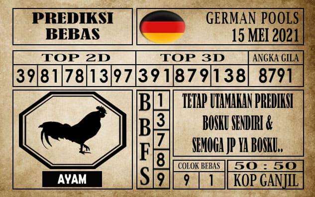 Prediksi Germany Hari Ini 15 Mei 2021