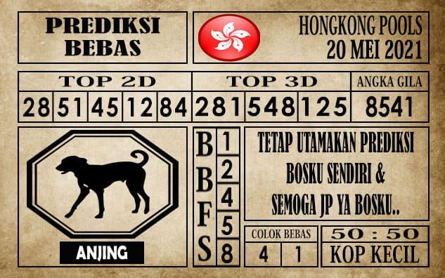 Prediksi Hongkong Pools Hari Ini 20 Mei 2021