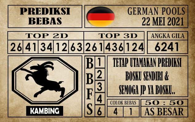Prediksi Germany Hari Ini 22 Mei 2021