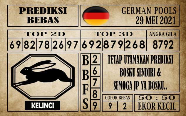 Prediksi Germany Hari Ini 29 Mei 2021