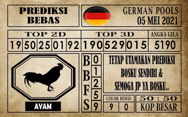 Prediksi Germany Hari Ini 05 Mei 2021