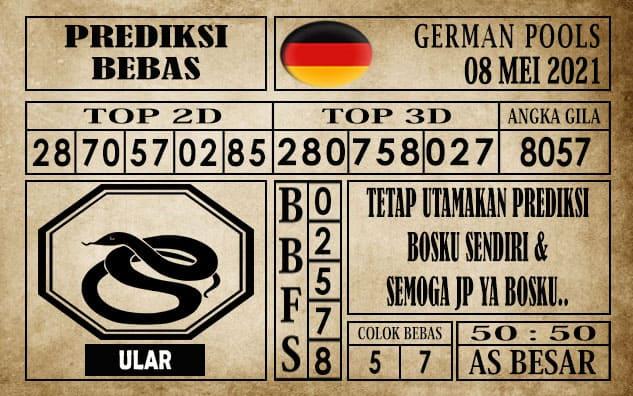 Prediksi Germany Hari Ini 08 Mei 2021