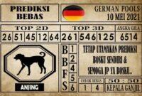 Prediksi Germany Hari Ini 10 Mei 2021