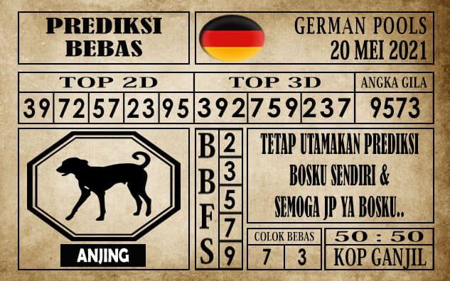 Prediksi Germany Hari Ini 20 Mei 2021