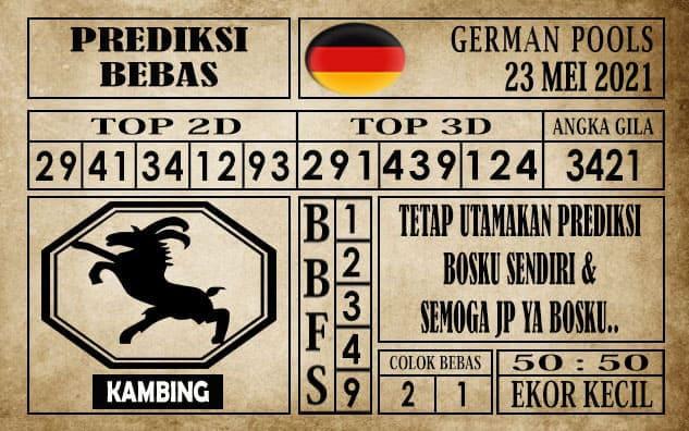 Prediksi Germany Hari Ini 23 Mei 2021