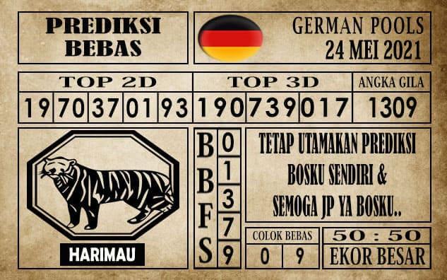 Prediksi Germany Hari Ini 24 Mei 2021