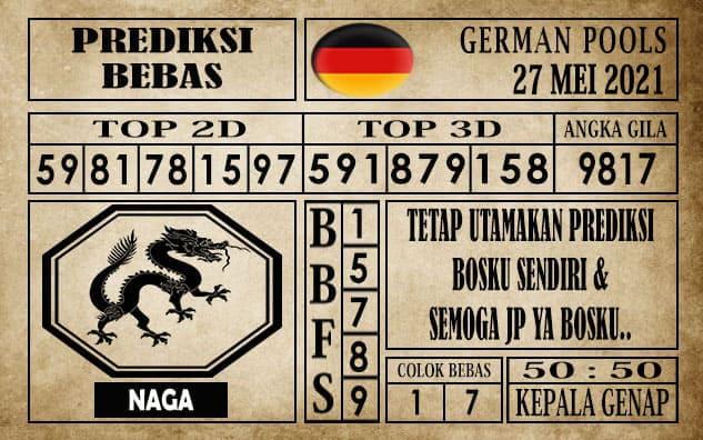 Prediksi Germany Hari Ini 27 Mei 2021